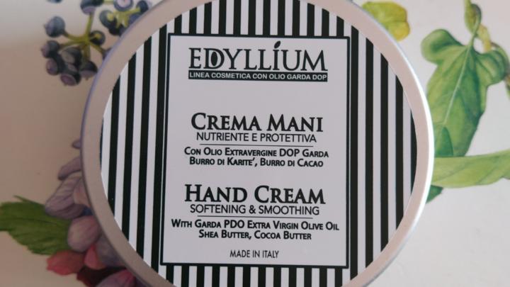 crema mani edyllium